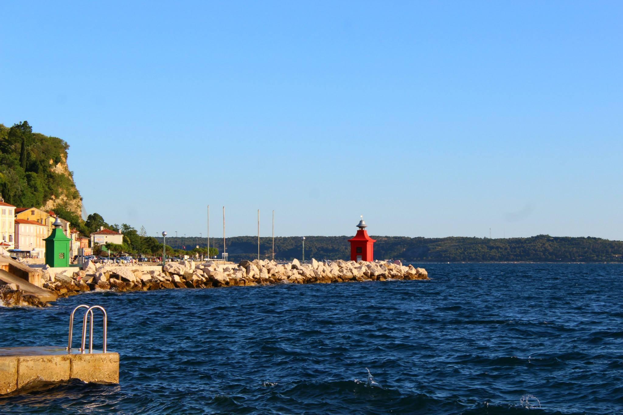 First glimpse of Adriatic Coast – Piran