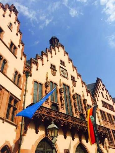 Short stopover at Frankfurt