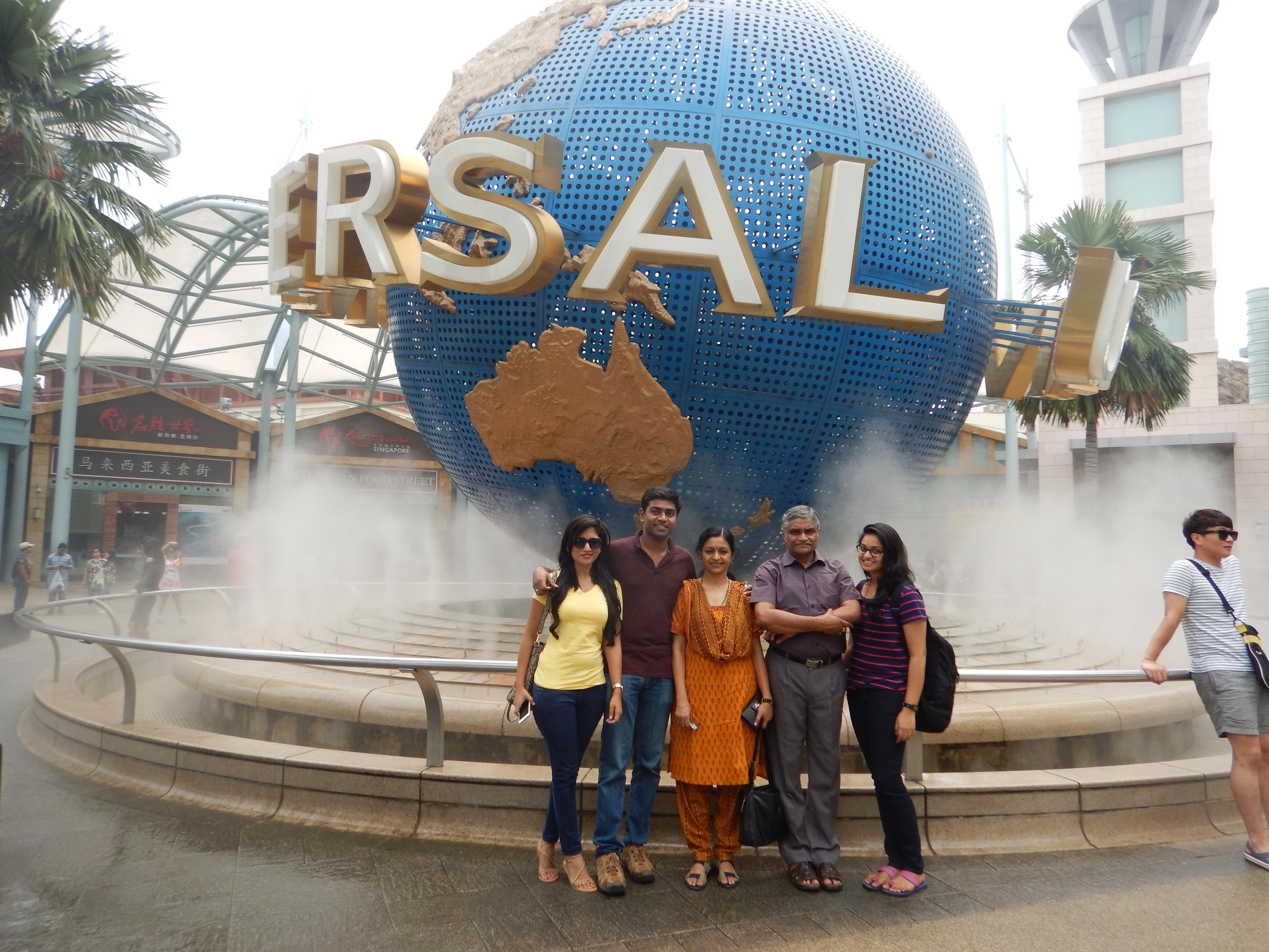 Family Trip this time…To Singapore!