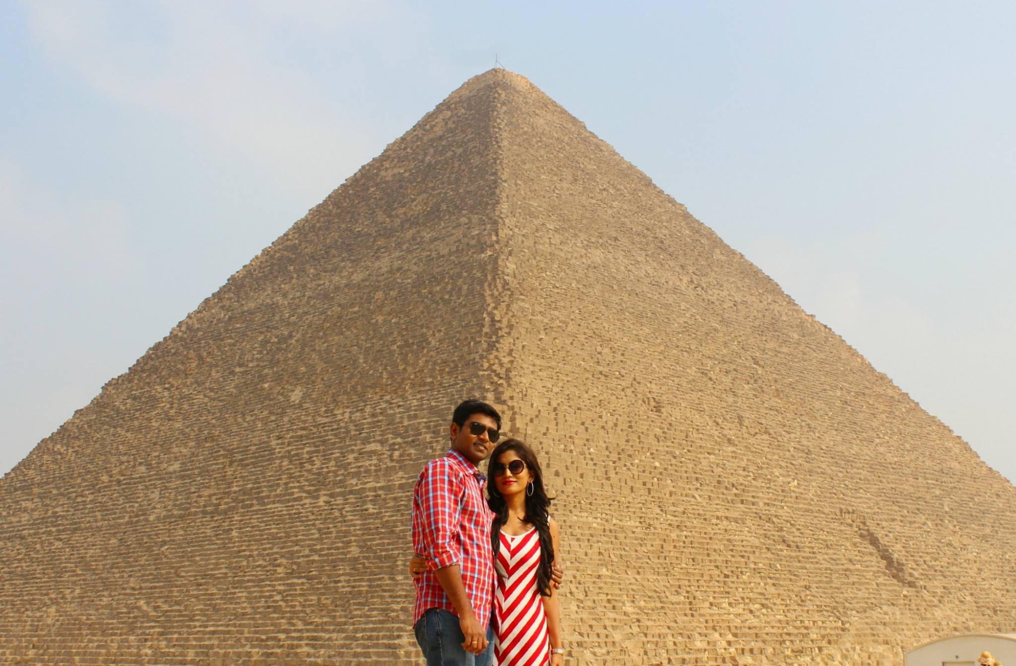 Pyramids! Sphinx! Mummies! We are in Egypt!!!