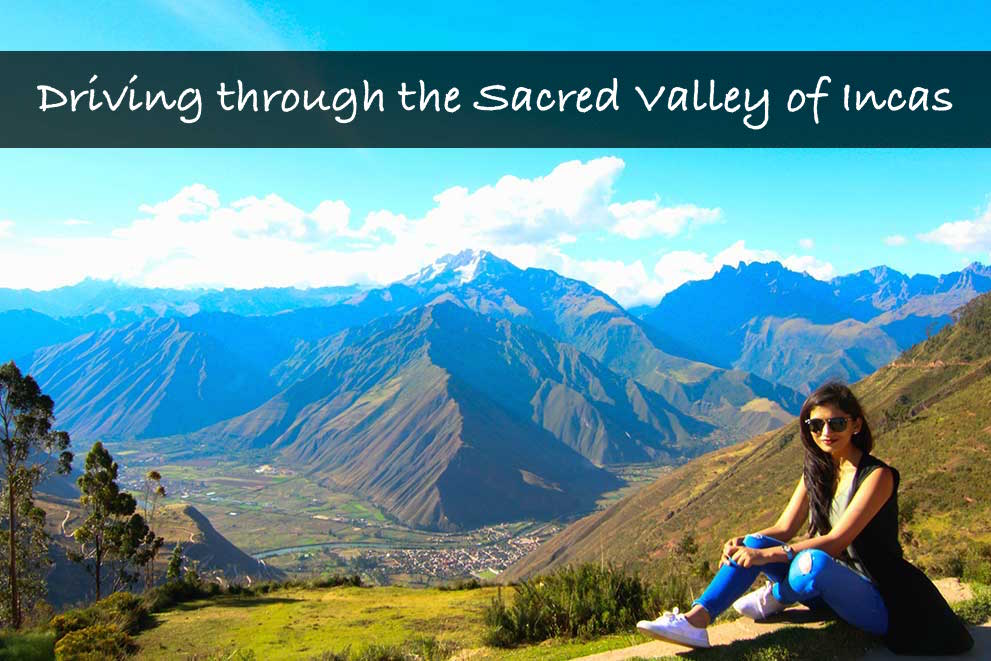 Driving through the Sacred Valley of Incas