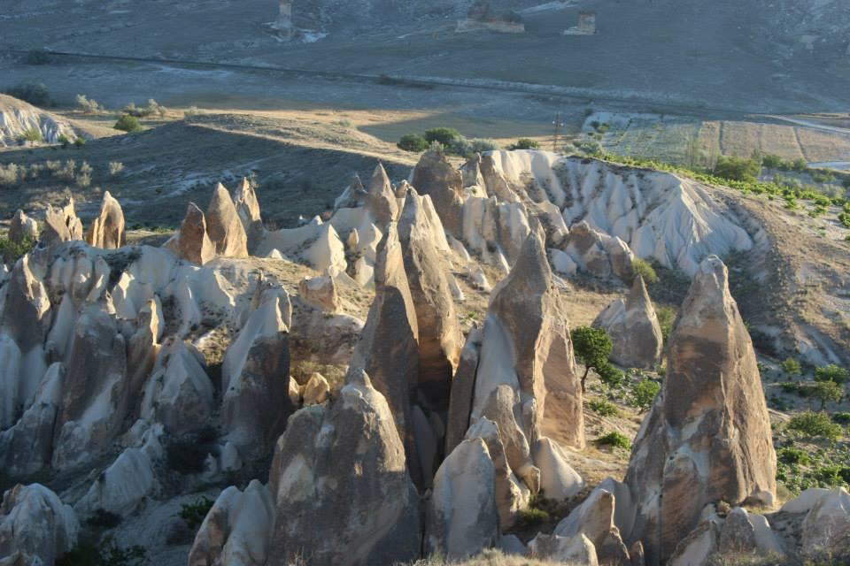 Magical landscape of Cappadocia