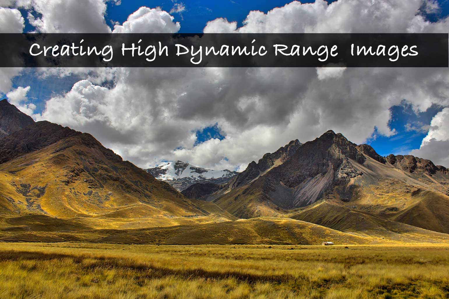 How to create High Dynamic Range(HDR) Photographs in 3 simple steps!