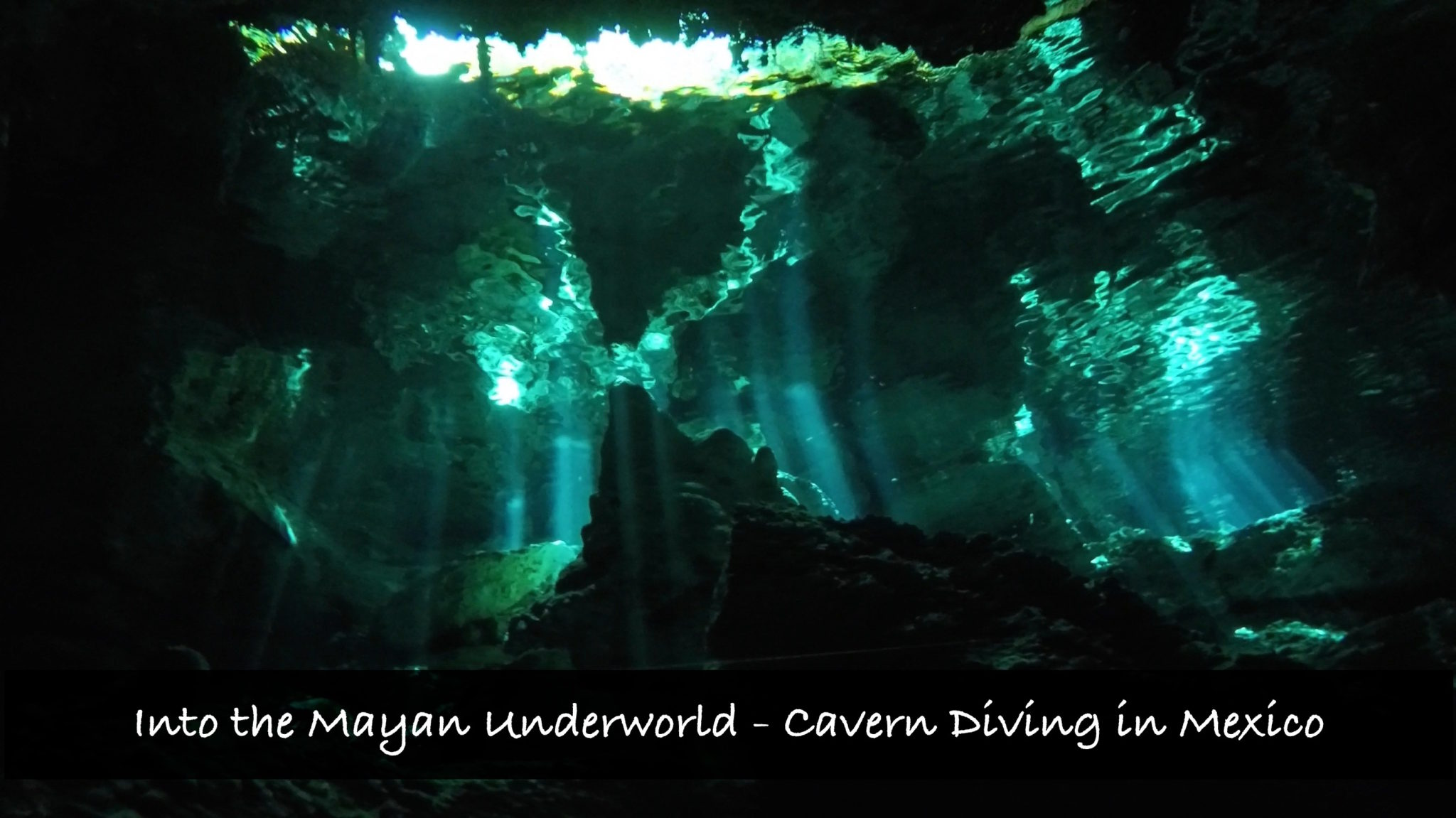 Into the Mayan Underworld – Cavern Diving in a Cenote!